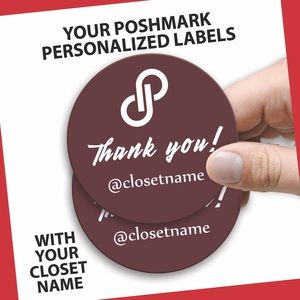 Other - Personalized Labels. 100 round labels